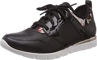 Jana Womens 8-8-23612-22 Low-Top Sneakers, Black (Black Comb. 098), 6.5 UK