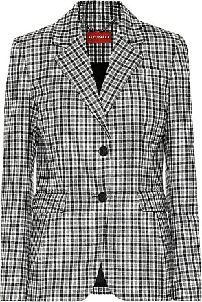 Altuzarra Fenice checked stretch-wool blazer
