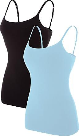 Pieces Womens Plain Underwear Top Noos Vest