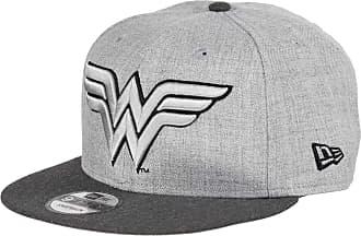 New Era Wonder Woman 9fifty Snapback Cap Comic Graphite Heather Graphite - One-Size