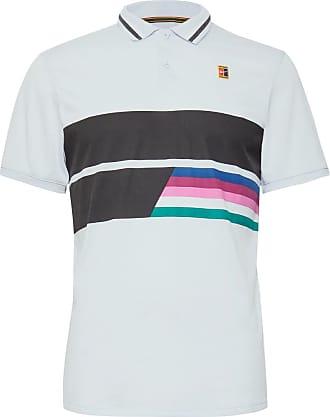 88cce19ec Nike Nikecourt Advantage Printed Dri-fit Tennis Polo Shirt - Light blue