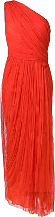 Maria Lucia Hohan one shoulder tulle dress - Red