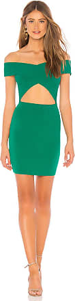 by the way. Hallie Cut Out Dress in Green