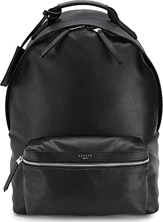 Sandro coated fabric backpack - Black