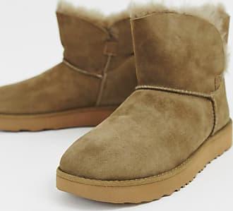 UGG Klassische Mini-Stiefel mit Umschlag-Braun