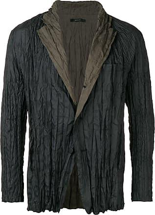 Issey Miyake crinkle style blazer - Black