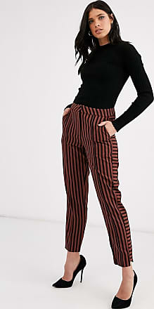 Y.A.S stripe tapered trousers-Multi
