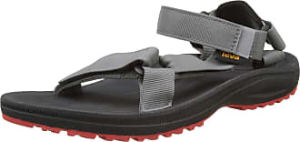 Teva Mens Winsted S Sports and Outdoor Sandal, Grey (Black/Red), 11 UK (45.5 EU)