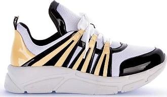 Di Valentini Tênis Runner Sneaker 591-05183 Verniz Amarelo Amarelo - 34