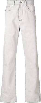 Natural Selection Calça jeans reta - Cinza