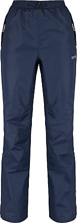 Regatta Great Outdoors Womens/Ladies Amelie III Waterproof Overtrousers (Long Leg) (M) (Navy)