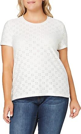 Jacqueline de Yong Womens JDYCATHINKA S/S TAG TOP JRS NOOS T-Shirt, Cloud Dancer, Large