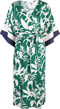 Borgo De Nor Vestido estilo quimono - Verde