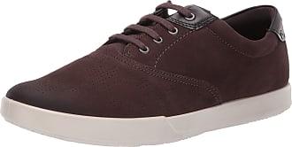 Ecco Mens Collin 2.0 Low-Top Sneakers, (Espresso/Black 51742), 7.5 UK