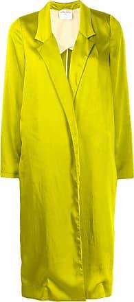 Forte_Forte oversized open-front coat - Green