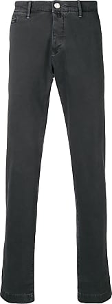 Jacob Cohen Academy straight leg stretch trousers - Black