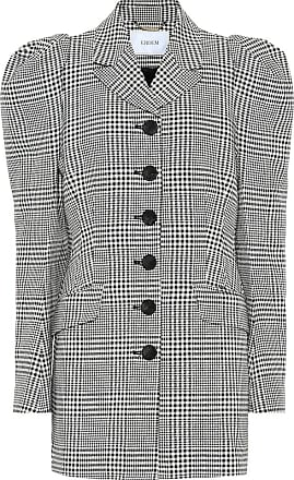 Erdem Alfreda checked cotton-blend blazer