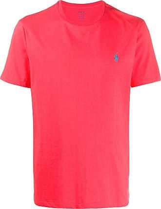 Polo Ralph Lauren T-shirt a girocollo - Di colore rosso