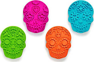 Fred Perry SWEET SPIRITS Day of the Dead Cookie Cutter/Stampers, Set of 4