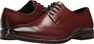 Stacy Adams Alaire Wingtip Lace-up Oxford (Cognac) Mens Lace Up Wing Tip Shoes