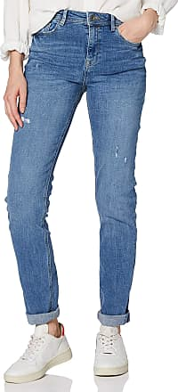 EDC by Esprit Womens 999cc1b820 Slim Jeans, Blue (Blue Light Wash 903), W28/L30 (Size: 28/30)
