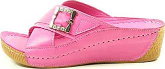 3ea845691d3633 Andrea Conti 779205 Schuhe Damen Sandalen Comfort Keil Pantoletten