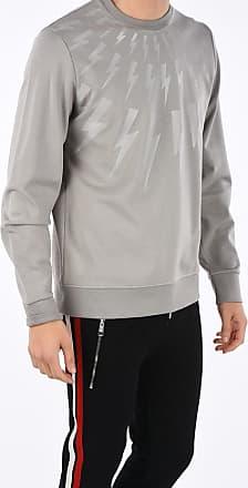 Neil Barrett crew-neck FAIR ISLE THUNDERBOLT Sweatshirt size Xxl