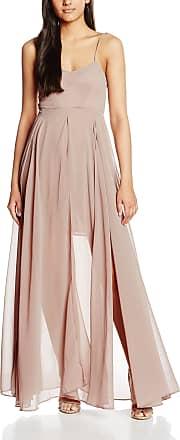 Religion Womens Bowie Maxi Plain Sleeveless Dress, Grey (Gull Grey), 12