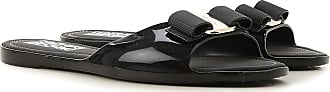 Salvatore Ferragamo Sandals for Women On Sale, Black, PVC, 2017, 5 6 9