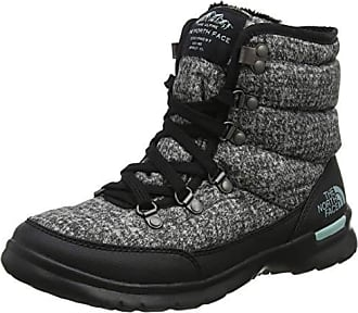 de3478d66f The North Face Thermoball Lace II Bottes de Neige Femme, Gris (Burnished  Houndstooth Print