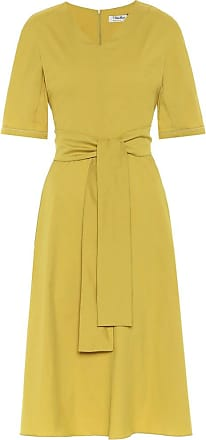 Max Mara Lea cotton poplin midi dress