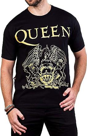 Bandalheira Camiseta Queen Logo Gola c/Elastano