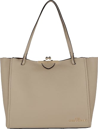 Marc Jacobs Tote - The Kiss Lock Tote Khaki - beige - Tote for ladies