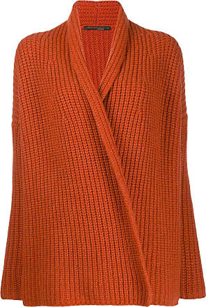 Incentive! Cashmere ribbed cardigan - Laranja