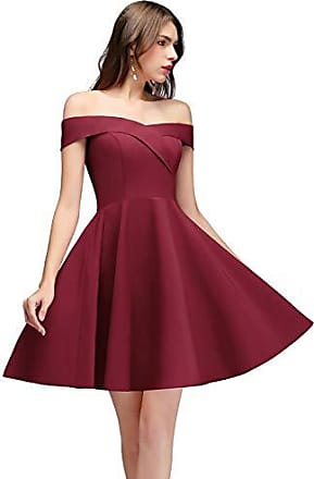 Schulterfreie Kleider in Rot: Shoppe jetzt bis zu −80% ...