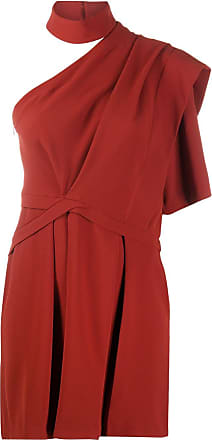 Iro Vestido de festa Fundi ombro único - Vermelho