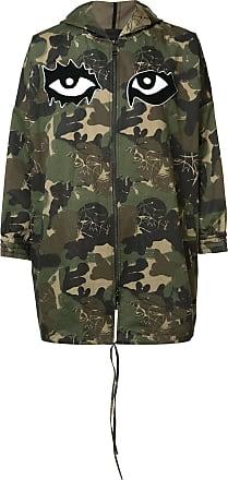 Haculla camouflage print coat - Green