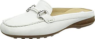 Geox Womens Euro 63 Moccasin, White, 39.5 M EU (9.5 US)