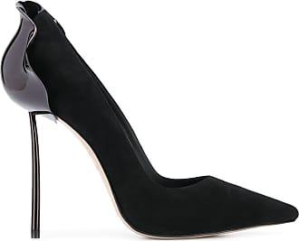 Le Silla Scarpin bico fino com salto agulha - Preto