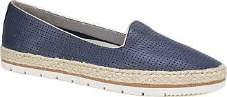 White Mountain Womens Becca Loafer Flat, Navy/Leather, 5.5 UK