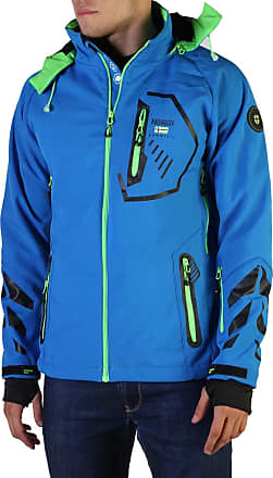 Geographical Norway Mens Jacket in Blue Model Tranco Man - Blue - L