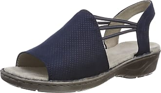 Jenny Womens Korsika 2257283 Closed Toe Sandals, (Blau 42), 8 UK