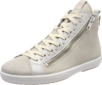 Legero Womens Trapani Hi-Top Trainers, Beige (Corda), 6.5 UK