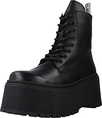 Yellow Women Womens Boots Tank Black 7.5 UK