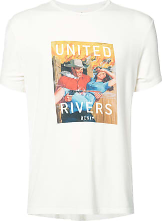 United Rivers United Drivers T-shirt - Branco