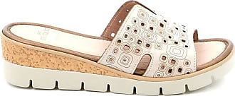 GrÜnland perforated woman pafo slipper - 36 - beige