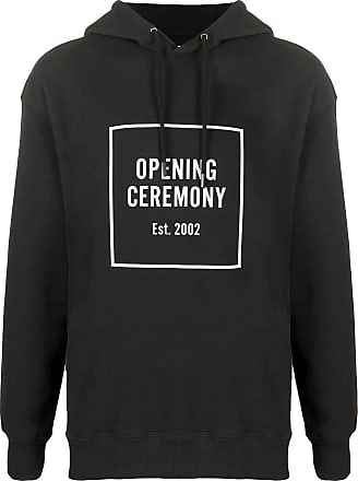 Opening Ceremony Logo Box relaxed-fit hoodie - Black