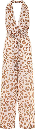Nanushka Alayna animal-print cotton jumpsuit