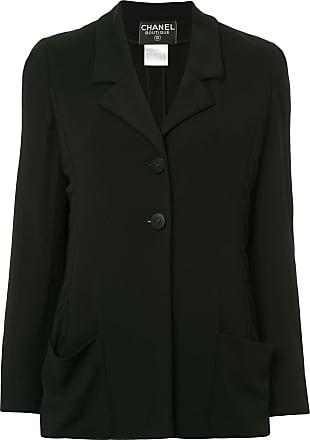 Chanel classic blazer - Black