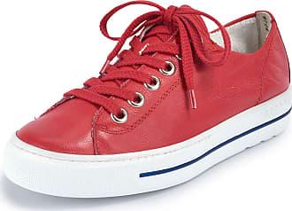Paul Green Calf nappa leather sneakers Paul Green red